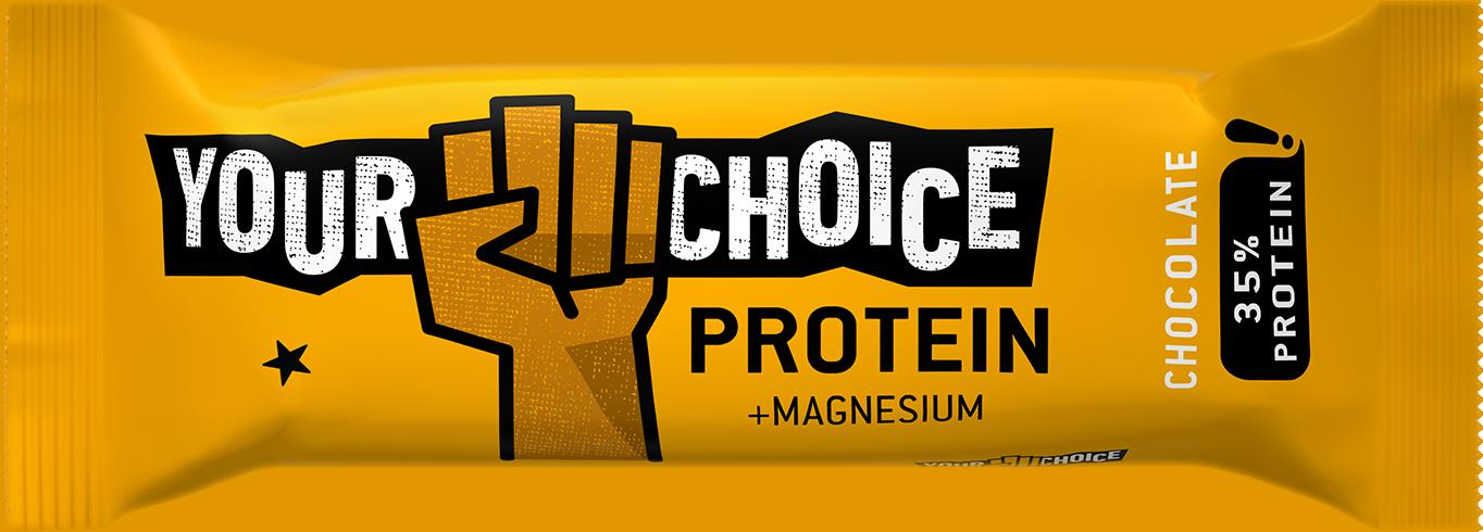 Proteínová tyčinka s príchuťou čokolády, 60g